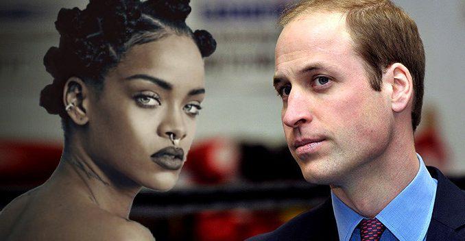 Zpěvačka Rihanna tvrdí, že britský princ William je Antikrist
