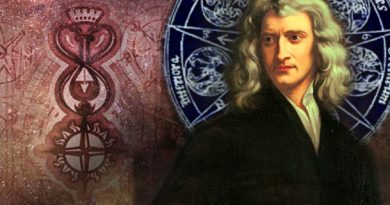 Isaac Newton, alchymie a magická síla čísla 3
