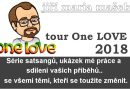 Pozvánka na duchovní setkání s jmm One Love tour 2018