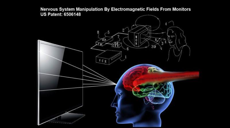 Americký patent č. 6506148 B2 potvrzuje možnost manipulace lidské nervové soustavy prostřednictvím obrazovek počítačů a televizorů