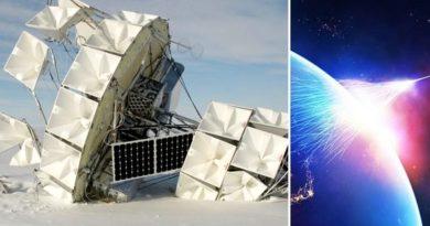 Z Antarktidy vystřelují zvláštní kosmické paprsky, vědci nevědí, co se děje
