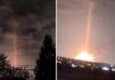 Na obloze v Michiganu se při záhadné explozi objevil zvláštní světelný paprsek