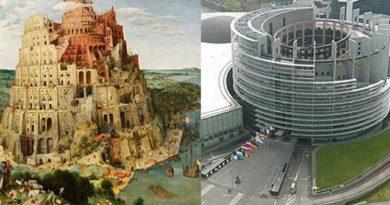 Okultní symbolika budovy Evropského parlamentu