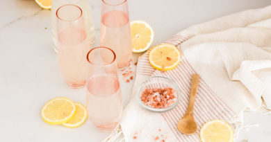 Limonáda s himálajskou solí pomáhá proti migréně