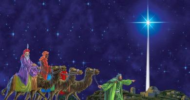 """Vánoce jako oslava Jupitera, """"jasné jitřenky"""""""