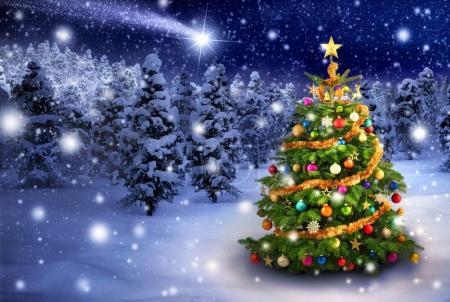 Vánoce – chladná Mariánská energie z galaktického středu