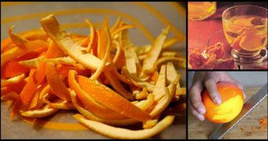 Pomerančová kůra je nabitá léčivými nutričními látkami