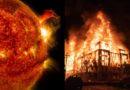 Pouliční bouře v Americe provázely nejsilnější sluneční erupce za posledních několik let