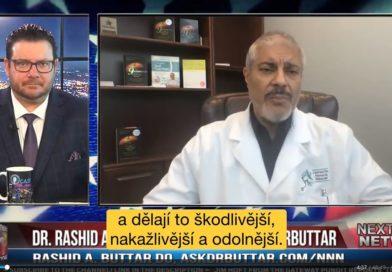 Dr. Buttar ke kovidu, očkování, a 5G