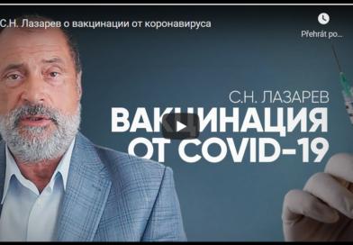Sergej N. Lazarev měl covid, bojoval o život
