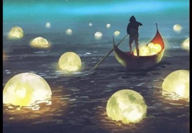 Ukázka z připravované knihy Let´s go jin!: Kapitola Měsíc