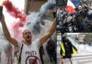 Francouzi se nevzdávají a usilovně protestují proti covidovému teroru