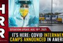 Spojené státy začínají připravovat koncentrační tábory pro odpůrce režimních opatření